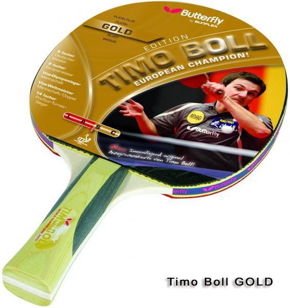 Timo Boll Gold Tischtennisschläger