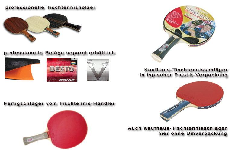 Tischtennisschläger, Profi-Tischtennis-Schläger, billige Tischtennisschläger