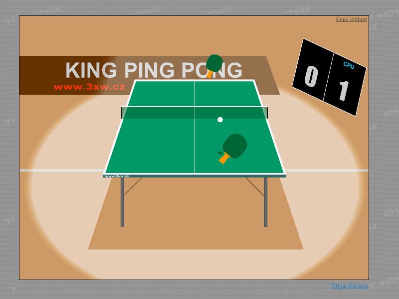 Tischtennis Online Spiel