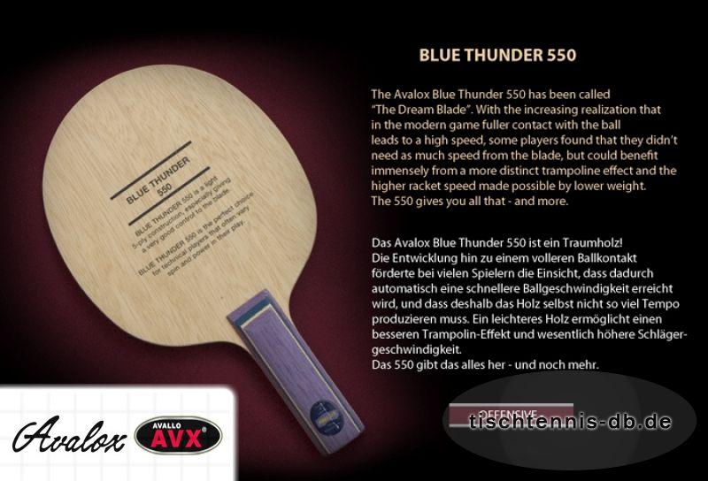 avalox blue thunder 550