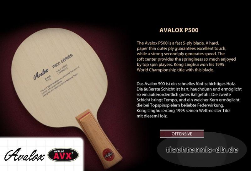 avalox p500