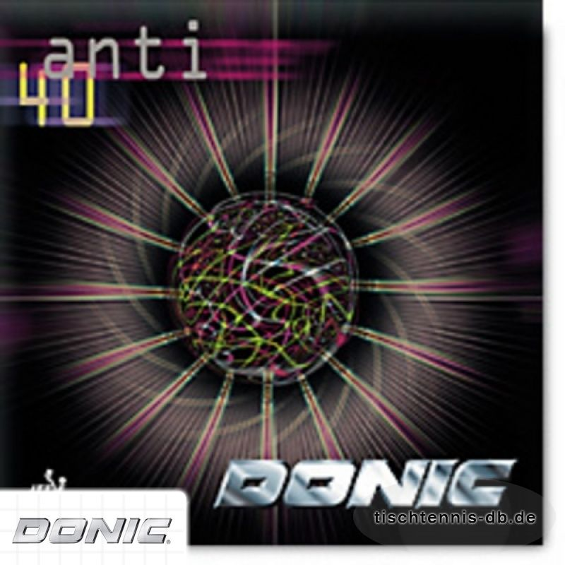 donic anti 40