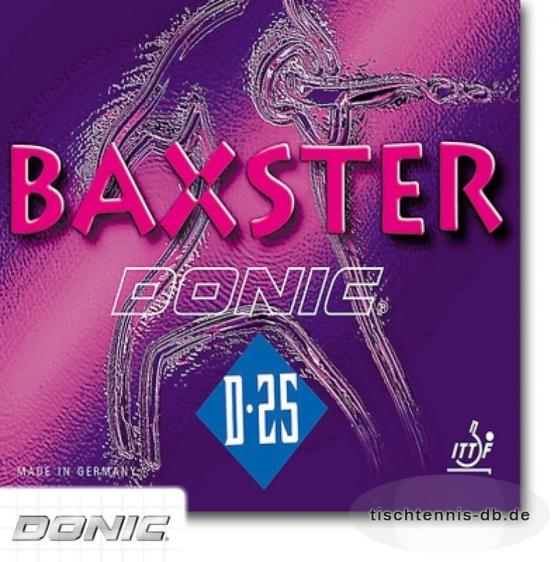 donic baxster  d25