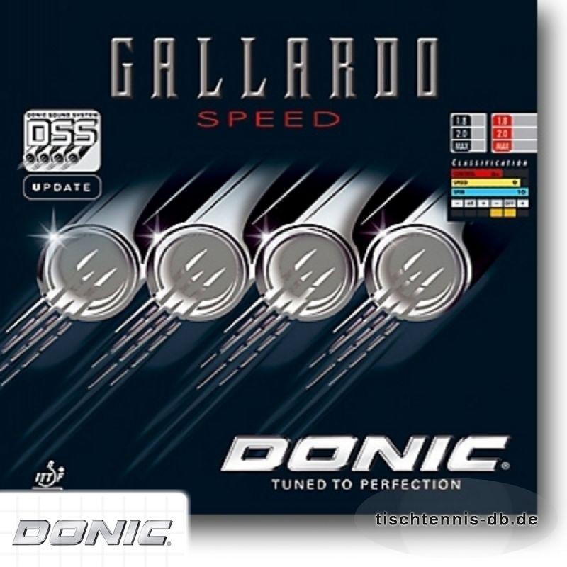 donic gallardo speed