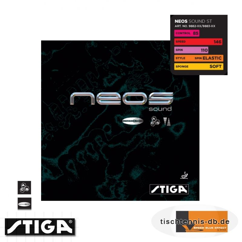 stiga neos sound synergy tech